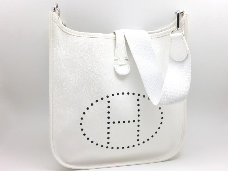 brand new c5905 75c29 エルメス エブリンPM ホワイト – 丹羽質店|京都市伏見区|質と ...